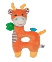 Zoocchini Grzechotka Pomarańczowa Żyrafa