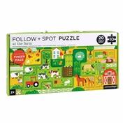 Petit Collage Puzzle z Labiryntem Farma