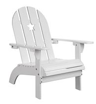 Kids Concept Krzesełko Ogrodowe Białe