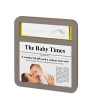 Baby Art Ramka News Print Taupe Azure/Sun