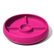 OXO Talerzyk Silikonowy Dzielony Pink