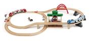 BRIO World Zestaw Kolejowy z Dworcem