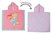 FlapJack Poncho Kąpielowe dla Dzieci Syrenka/Narwal UPF50+