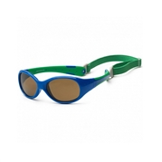 KOOLSUN Okulary FLEX Royal Green 0-3 lat