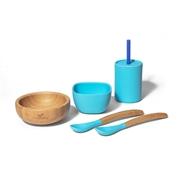 Avanchy Family Zestaw Obiadowy dla Dziecka Blue