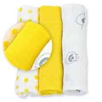 Lulujo Mini Pieluszki Sunshine Yellow