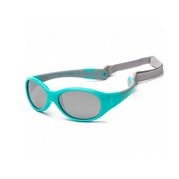KOOLSUN Okulary FLEX Agua Grey 3-6 lat