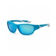 KOOLSUN Okulary SPORT Aqua White 3-8 lat
