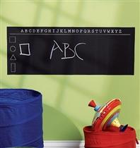 Wallies Naklejki Tablica Kredowa Alfabet
