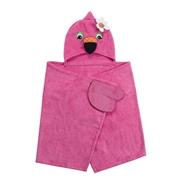 Zoocchini Ręcznik dla Dziecka Z Kapturem Flaming