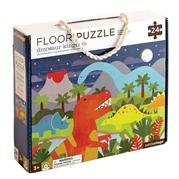 Petit Collage Puzzle Podłogowe Dinozaur