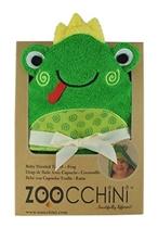 Zoocchini Ręcznik Mały Z Kapturem Żabka