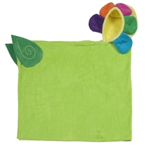 Zoocchini Ręcznik z Kapturem Kwiatek Flora