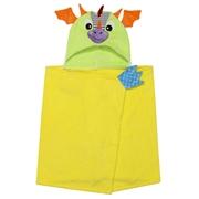 Zoocchini Ręcznik dla Dziecka z Kapturem Smok