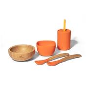 Avanchy Family Zestaw Obiadowy dla Dziecka Orange