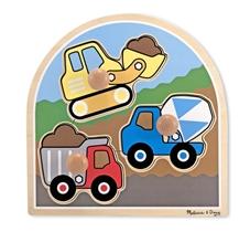 Melissa & Doug Puzzle Pojazdy Budowlane