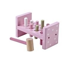 Kids Concept Drewniane Klocki Z Młotkiem R