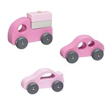 Kids Concept Drewniane Samochody 412224